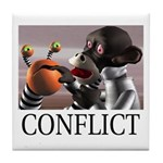 Conflict Tile Coaster
