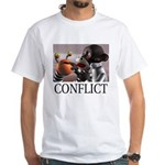Conflict White T-Shirt