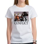 Conflict Women's T-Shirt