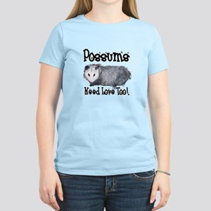 Possums Need Love Women's Light T-Shirt