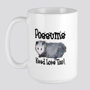 Possums Need Love Large Mug