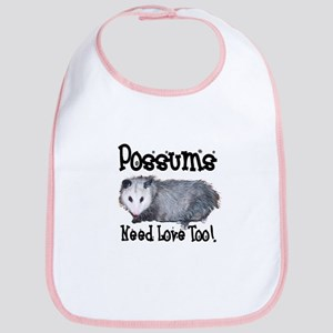 Possums Need Love Bib