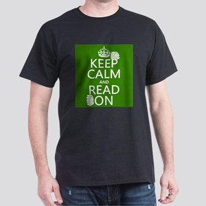 Keep Calm and Read On T-Shirt