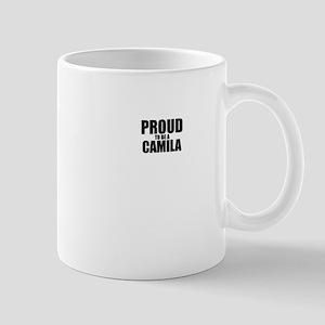 Proud to be CAMILA Mugs