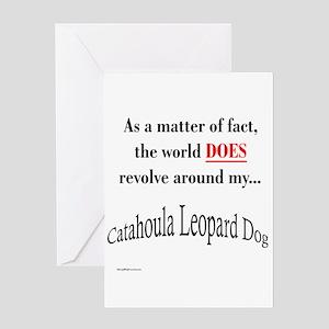 Catahoula World1 Greeting Card