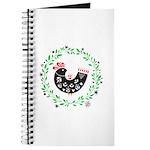 Folk Art Christmas Bird Journal