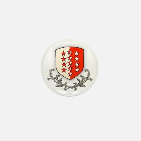 Canton Valais Mini Button