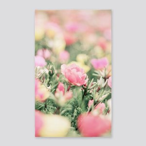 Beautiful Flowers Area Rug