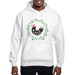 Folk Art Christmas Bird Sweatshirt
