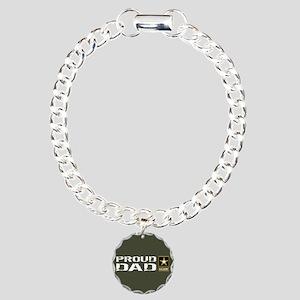 U.S. Army: Proud Dad (Mi Charm Bracelet, One Charm