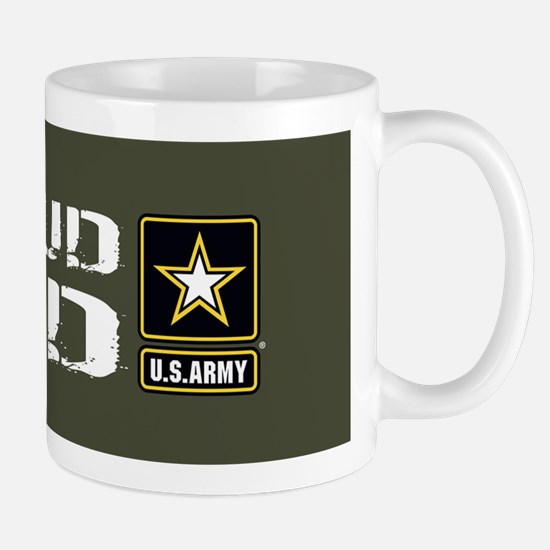 U.S. Army: Proud Dad (Military Green) Mug