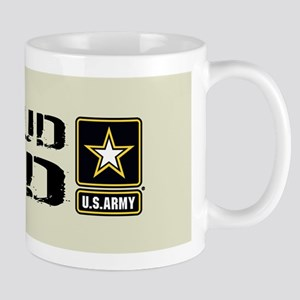 U.S. Army: Proud Dad (Sand) Mug