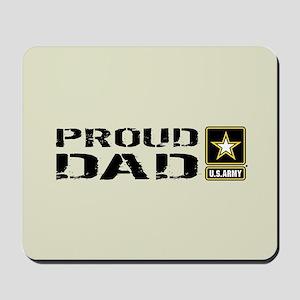 U.S. Army: Proud Dad (Sand) Mousepad