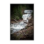Spring Waterfall Mini Poster Print