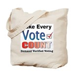 Make Every Vote Count Tote Bag