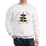 Folk Art Christmas Tree Sweatshirt