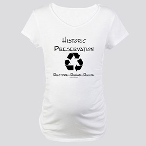 Preservation Recycle Maternity T-Shirt