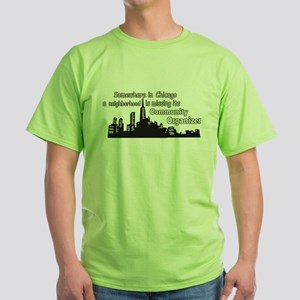 Neighborhood Missing Community Organizer T-Shirt