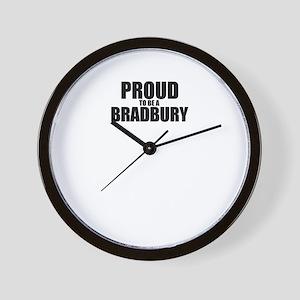 Proud to be BRADBURY Wall Clock