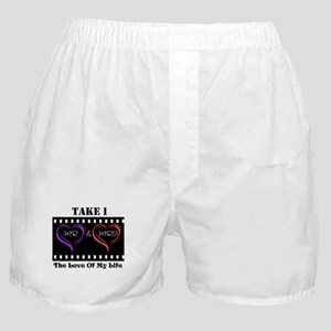 Mr and Mrs Take 1 Boxer Shorts