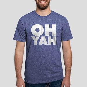 Oh Yah Mens Tri-blend T-Shirt
