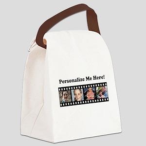 Custom Photo Template Filmstrip Canvas Lunch Bag
