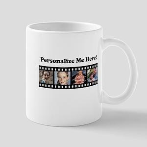 Custom Photo Template Filmstrip Mug