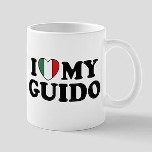 I Love My Guido Mug