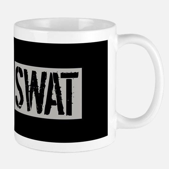 Police: SWAT (Black Flag Blue Line) Mug