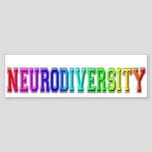 Neurodiversity University Bumper Sticker
