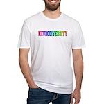 Neurodiversity University Fitted T-Shirt