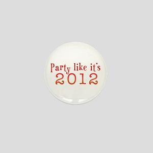 2012 Party Mini Button