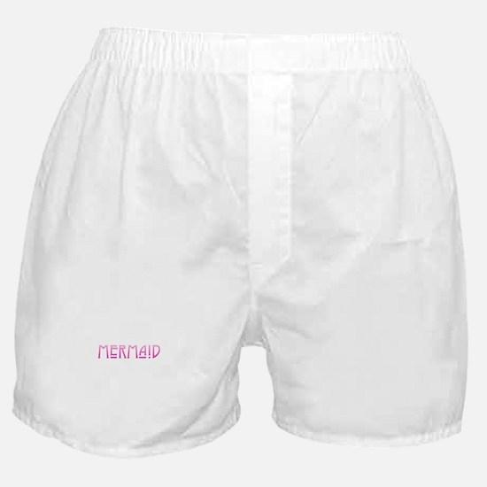 Mermaid - Pink Boxer Shorts