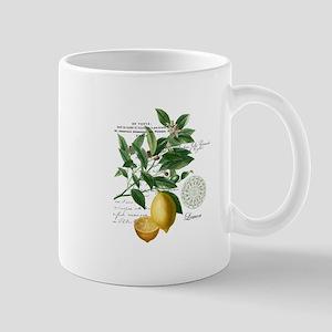 Modern Vintage Lemons Mugs