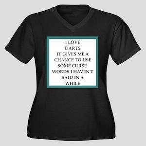 dart,darts Plus Size T-Shirt