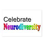 Celebrate Neurodiversity 2 Postcards (Package of 8