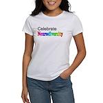 Celebrate Neurodiversity 2 Women's T-Shirt