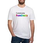 Celebrate Neurodiversity 2 Fitted T-Shirt