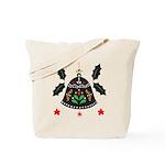 Folk Art Christmas Bell Tote Bag