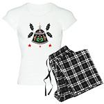 Folk Art Christmas Bell Pajamas