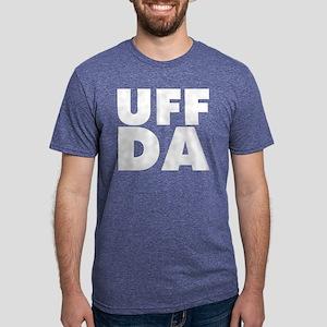 Uff Da Mens Tri-blend T-Shirt