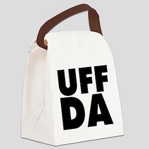 Uff Da Canvas Lunch Bag