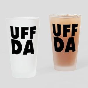 Uff Da Drinking Glass
