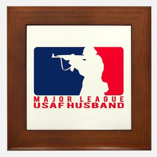 Major League Husband 2 - USAF Framed Tile