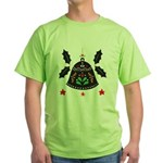 Folk Art Christmas Bell T-Shirt
