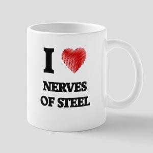 I Love Nerves Of Steel Mugs