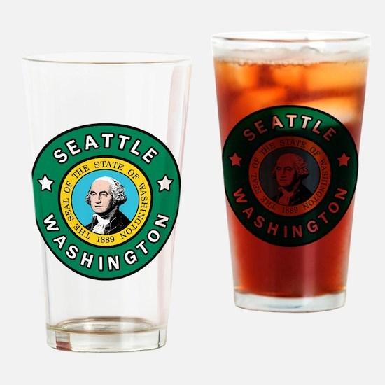 Unique Federal way pride Drinking Glass