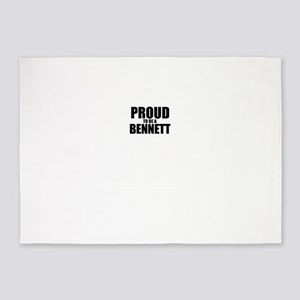 Proud to be BENNETT 5'x7'Area Rug