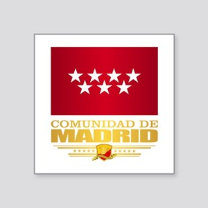 Madrid Flag Sticker