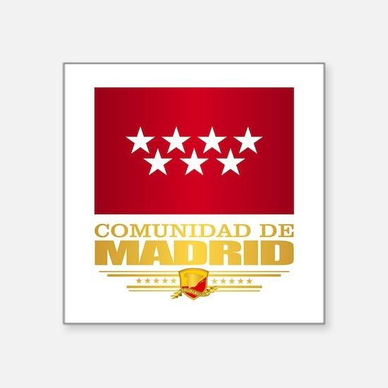 Madrid Flag Sticker